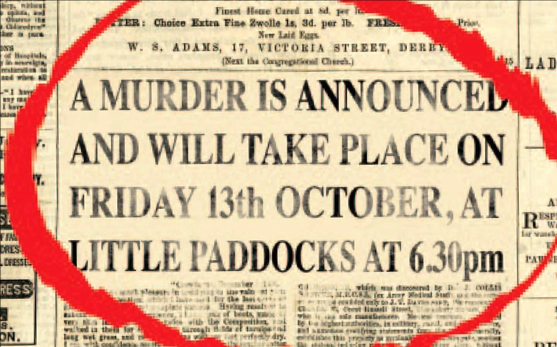 A Murder is Announced - Theatre Suburbia Play